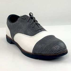 New Reebok Fashion Trac Tip Golf Shoes 7.5 Leather